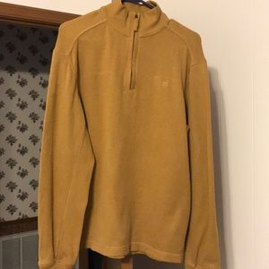 Timberland quarter zip pull over sweater shirt